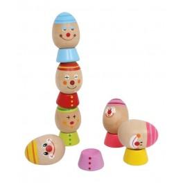 Huevos equilibristas