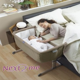 Next2me de Chicco Dove Gray