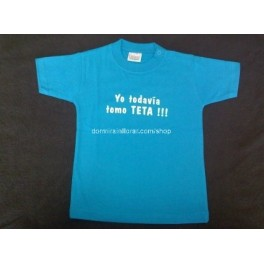 Camiseta para bebé mensaje Lactancia