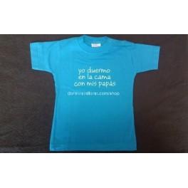 Camiseta para bebé mensaje Colecho