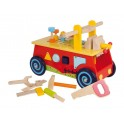 Correpasillos de madera con herramientas (Envío gratis)